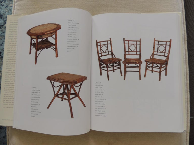 American Adirondack Furniture and the Rustic Tradition by Craig Gilborn Hardcover Book For Sale