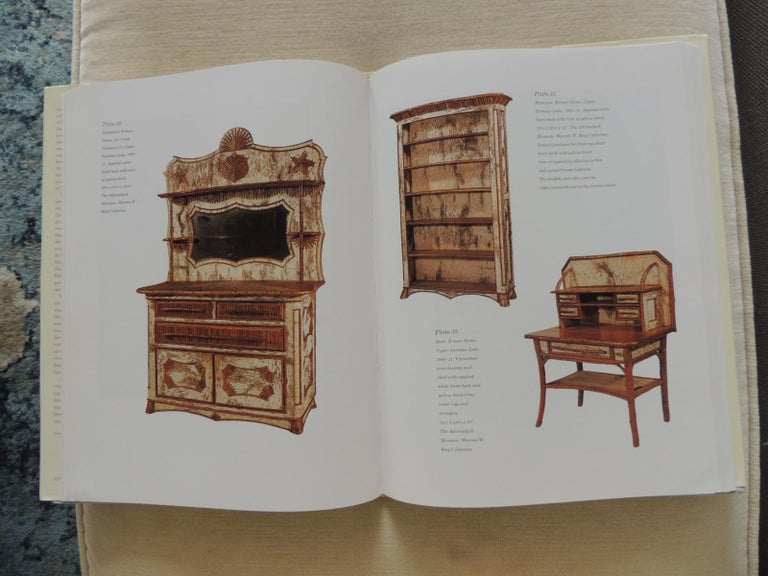 Machine-Made Adirondack Furniture and the Rustic Tradition by Craig Gilborn Hardcover Book For Sale