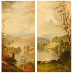 Adirondack Paintings by Levi Wells Prentice
