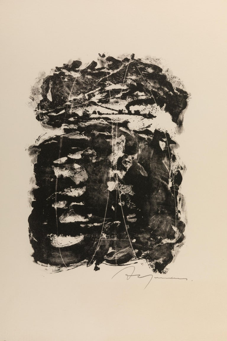 Adja Yunkers (1900-1983) was an abstract painter and printmaker. Born in Latvia Yunkers lived and studied extensively in Leningrad, Berlin, Paris, and London. He lived in Paris for 14 years, and then moved to Stockholm in 1939 where he focused on