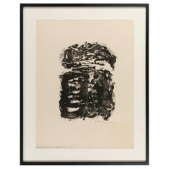Adja Yunkers Lithograph Signed, USA, 1960s