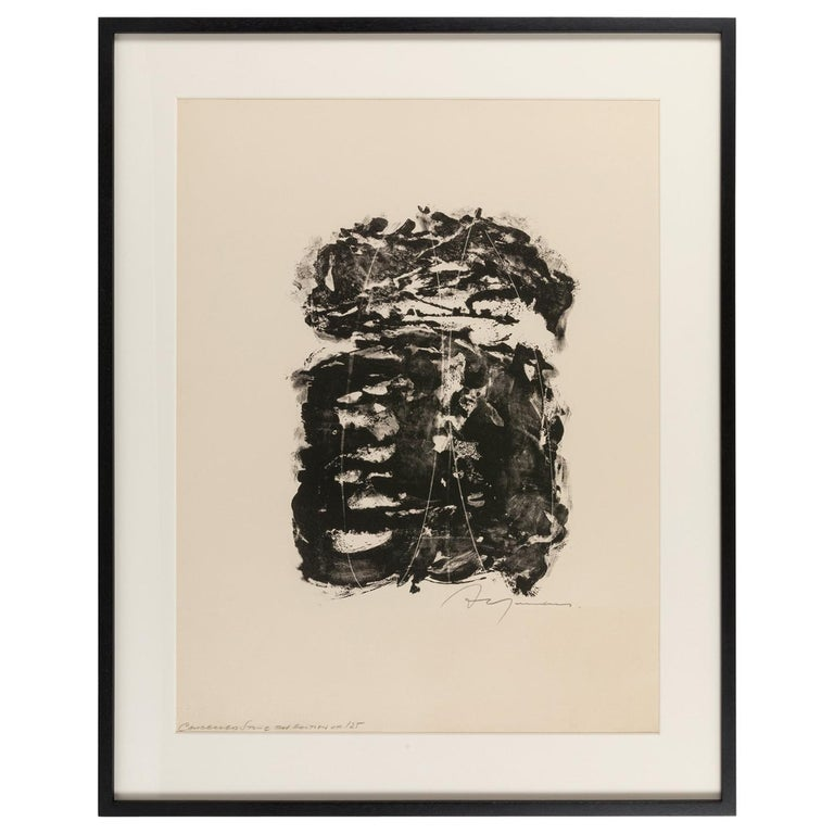 Adja Yunkers Lithograph Signed, USA, 1960s For Sale