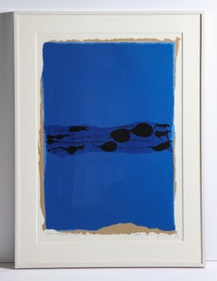 "Adja Yunkers Lithograph ""Parev III"" USA, 1973"
