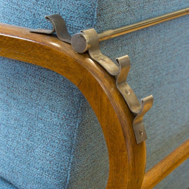 Adjustable Art Deco Armchairs, 1930s, Set of 2 3