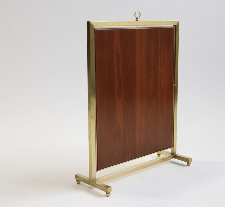 Mid-20th Century Adjustable Brass Vanity Mirror, Mid Century, 1960s For Sale