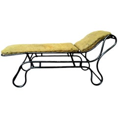 Adjustable Chaise-Longue, France, circa 1900