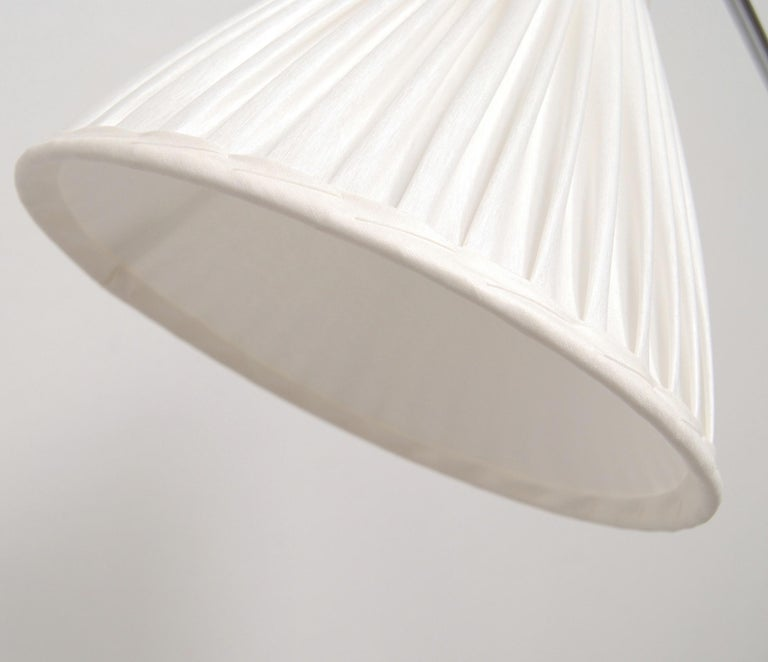 Adjustable Floor Lamp by Eskilstuna Elektrofabrik, Sweden, 1950s In Good Condition For Sale In Stockholm, SE