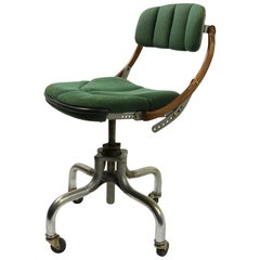 Adjustable Industrial Swivel Desk Office Task Chair by Do More