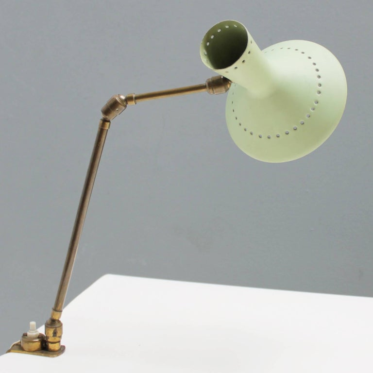 Adjustable Italian Desk Lamp In Excellent Condition For Sale In JM Haarlem, NL