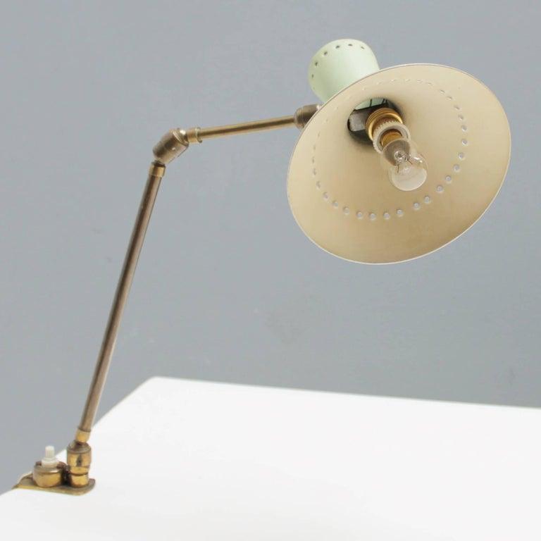 Mid-20th Century Adjustable Italian Desk Lamp For Sale