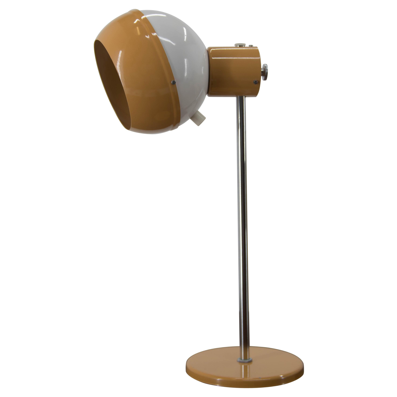 Adjustable Magnetic Table Lamp by Drukov, 1970s