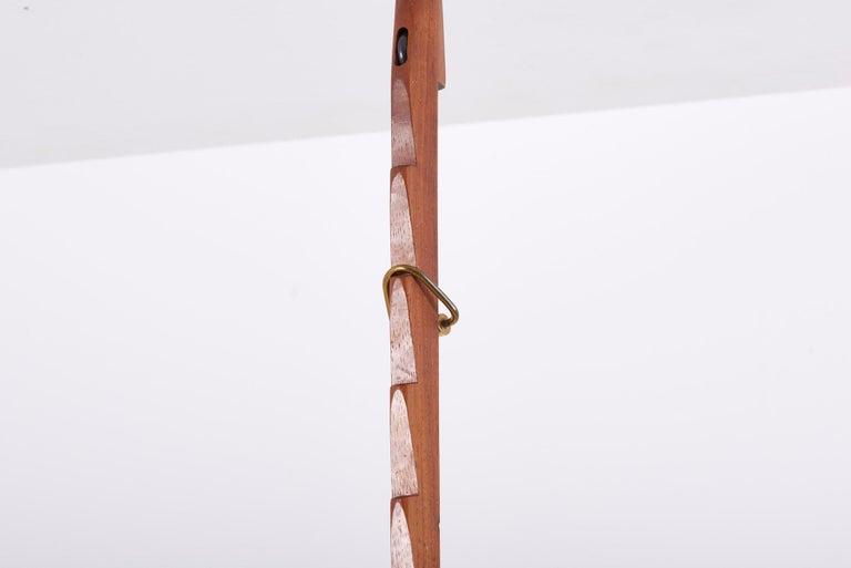 Adjustable Pendant Lamp by Svend Aage Holm Sørensen, Denmark, 1960s For Sale 3