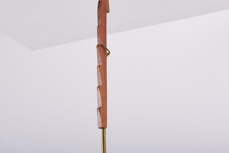 Adjustable Pendant Lamp by Svend Aage Holm Sørensen, Denmark, 1960s For Sale 4