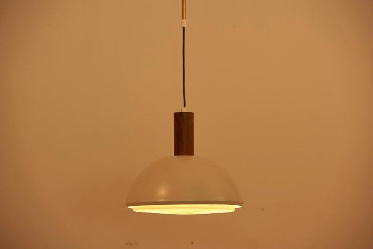 Adjustable Pendant Lamp by Svend Aage Holm Sørensen, Denmark, 1960s In Good Condition For Sale In Berlin, DE
