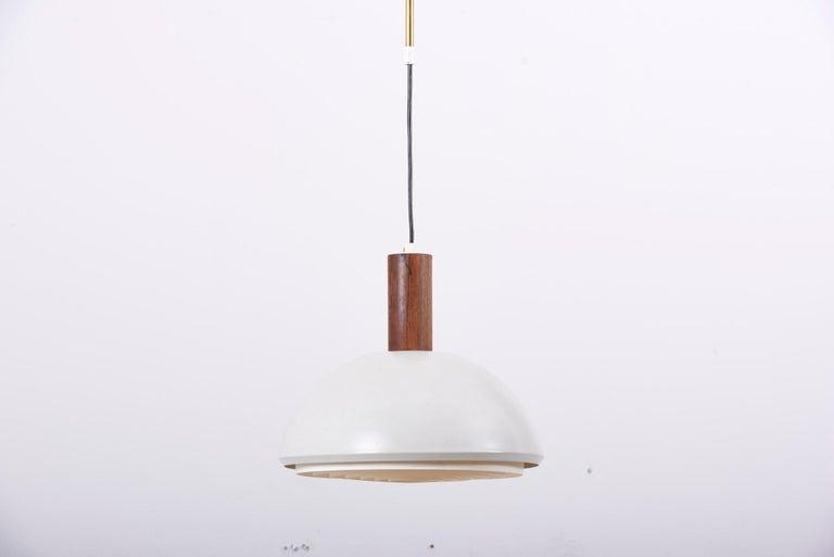 20th Century Adjustable Pendant Lamp by Svend Aage Holm Sørensen, Denmark, 1960s For Sale
