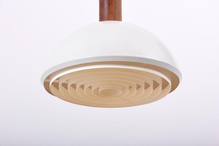 Metal Adjustable Pendant Lamp by Svend Aage Holm Sørensen, Denmark, 1960s For Sale