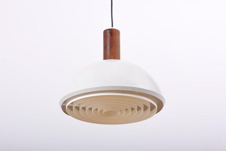 Adjustable Pendant Lamp by Svend Aage Holm Sørensen, Denmark, 1960s For Sale 1
