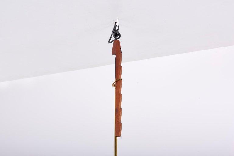 Adjustable Pendant Lamp by Svend Aage Holm Sørensen, Denmark, 1960s For Sale 2