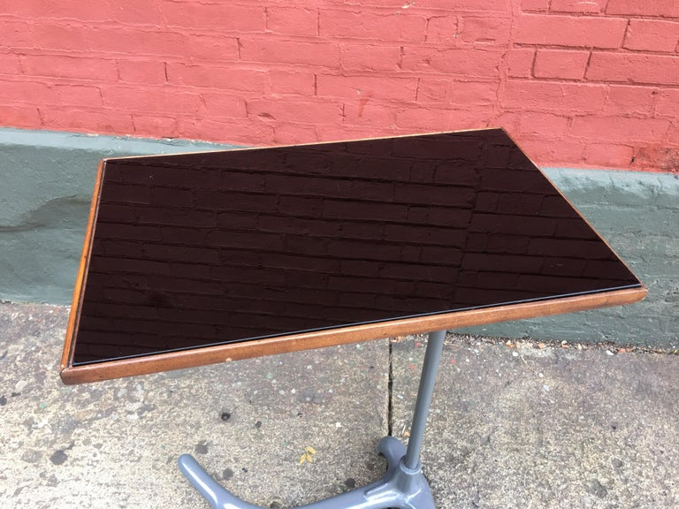 Mid-Century Modern Adjustable Reading / Tray Table For Sale