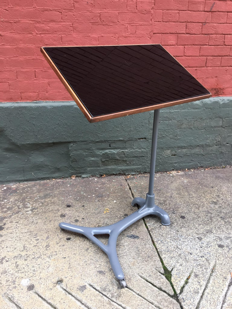 Metal Adjustable Reading / Tray Table For Sale