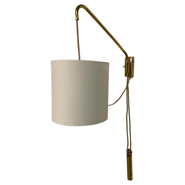 Adjustable Wall Light With Counterweight For Sale At 1stdibs