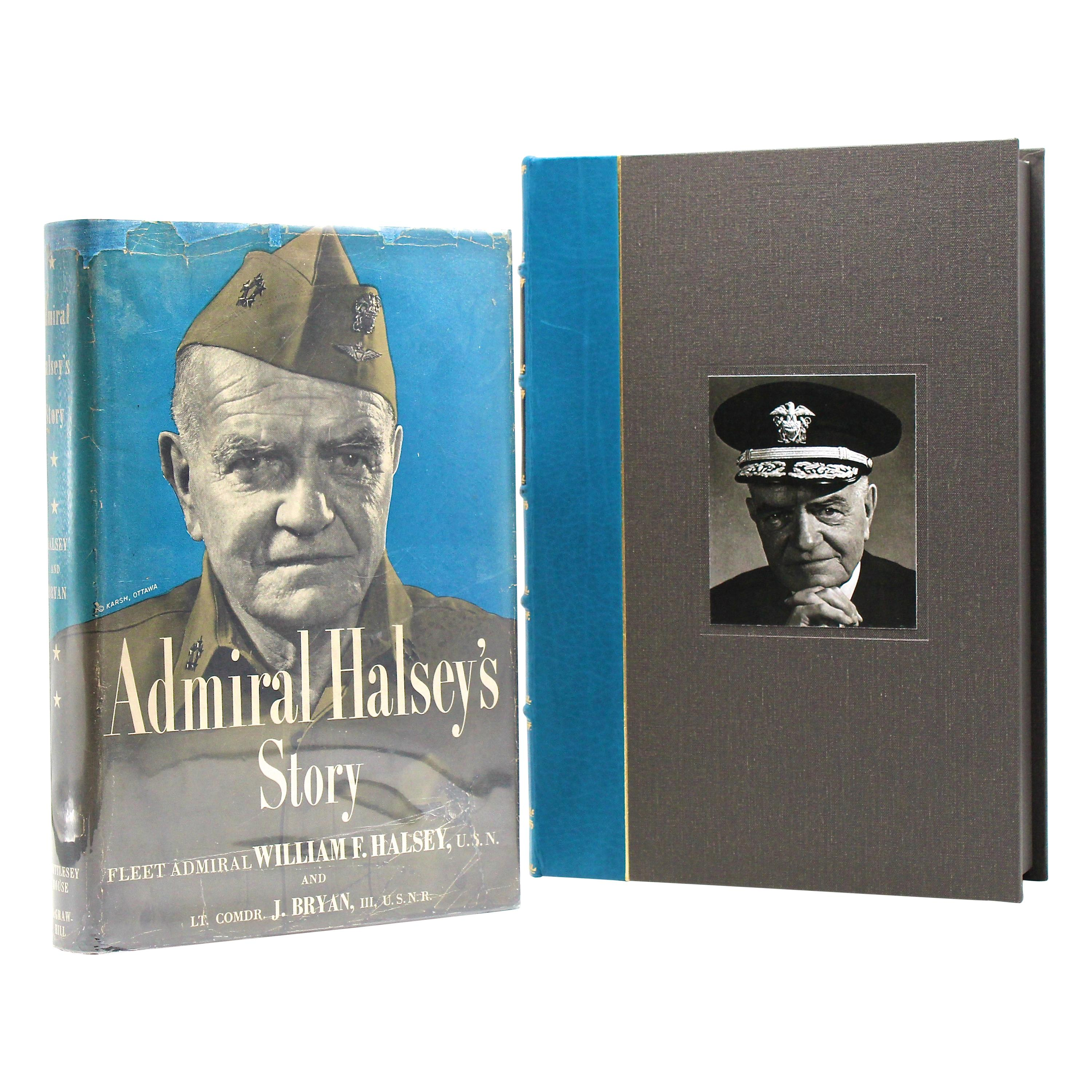 """""""Admiral Halsey's Story,"""" First Edition, Signed and Inscribed by Admiral Halsey"""