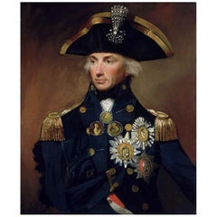 Admiral Horatio Nelson Authentic Lock of Hair