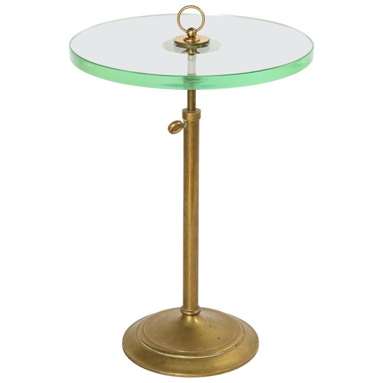 Adnet Adjustable Table For Sale