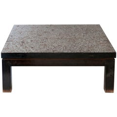 Ado Chale Coffee Table, Signed, circa 1970, Belgium