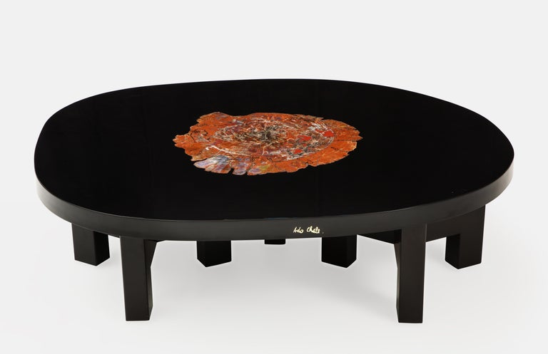 Mid-Century Modern Ado Chale Rare Coffee Table For Sale