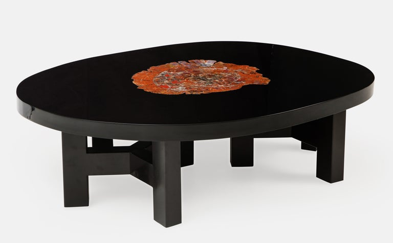 Ado Chale Rare Coffee Table In Good Condition For Sale In New York, NY