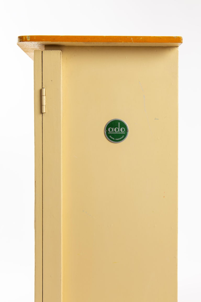 Mid-20th Century Ado Ko Verzuu Dutch Wardrobe Closet Toy For Sale