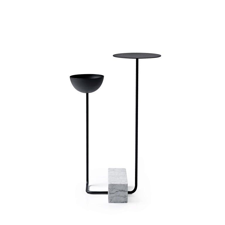 Minimalist Adobe Table #3, by Wentz, Brazilian Contemporary Design For Sale
