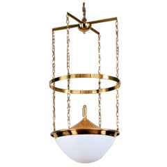 Adolf Loos for the Anglo Austrian Bank Vienna Chandelier Jugendstil