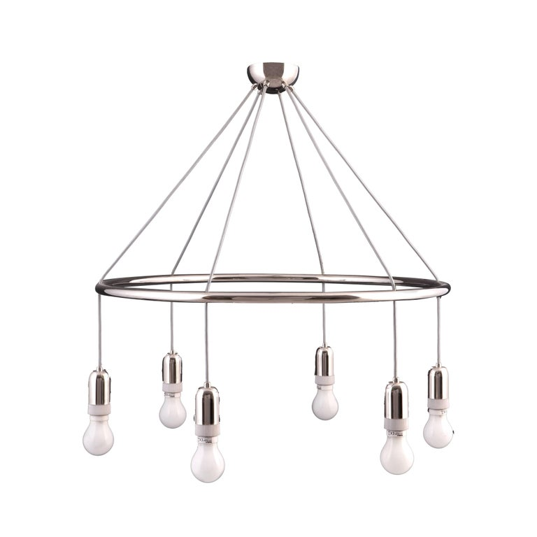 Adolf Loos Jugendstil Chandelier Cafe Museum Vienna, Re-Edition  For Sale