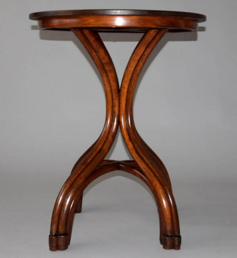 Late 19th Century Adolf Loos Conference Coffee Table / JJ Kohn, 1899 For Sale