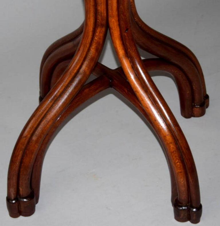 Wood Adolf Loos Conference Coffee Table / JJ Kohn, 1899 For Sale