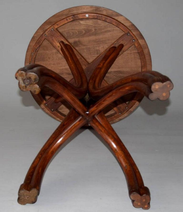 Adolf Loos Conference Coffee Table / JJ Kohn, 1899 For Sale 1