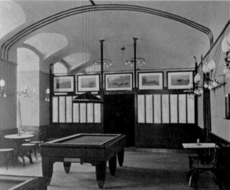 Adolf Loos Conference Coffee Table / JJ Kohn, 1899 For Sale 2