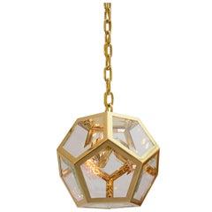 Adolf Loos Knize Symmetric Pendant, for Shops in Vienna, Paris, Berlin Reedition