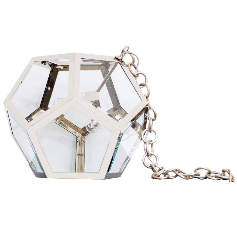 "Adolf Loos ""Knize"" Taylorshop Pentagon-Dodekaeder Table/Floor Lamp re-edition For Sale"