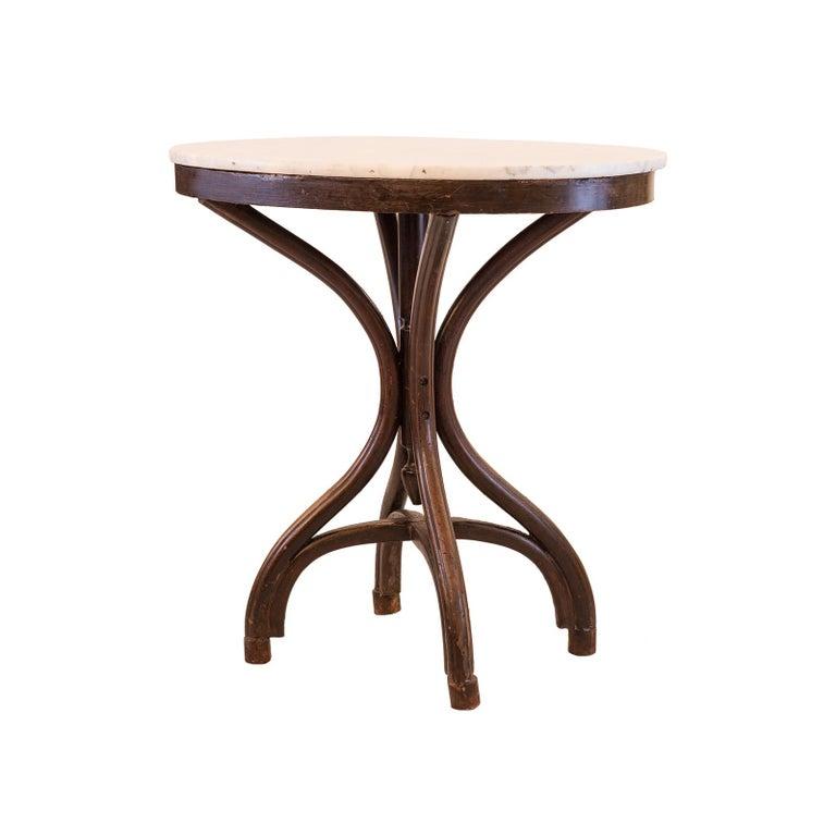 Adolf Loos Original Cafe Museum Table with marbel top Jugendstil Secession Style For Sale