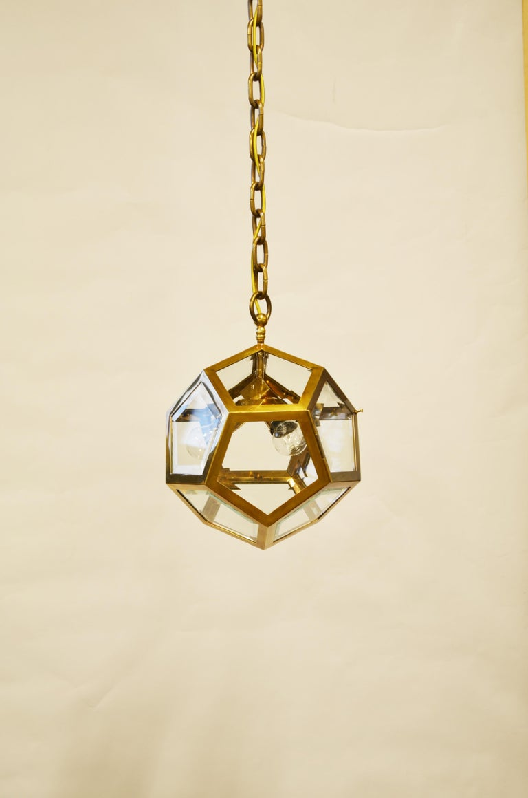 Austrian Adolf Loos Pendant for the Knize Salon in Vienna, re- edition For Sale