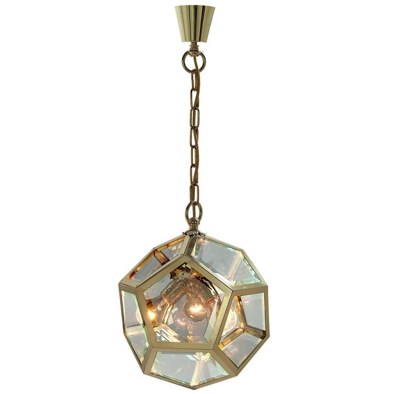 Adolf Loos Pendant for the Knize Salon in Vienna, re- edition For Sale
