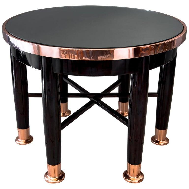 Adolf Loos Round Haberfeld Table For Sale