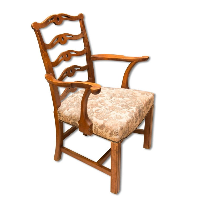Adolf Loos, Early 20th Century Secessionist Armchair in Oak For Sale 4