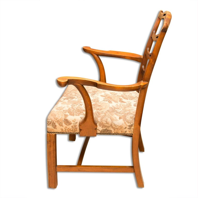 Austrian Adolf Loos, Early 20th Century Secessionist Armchair in Oak For Sale