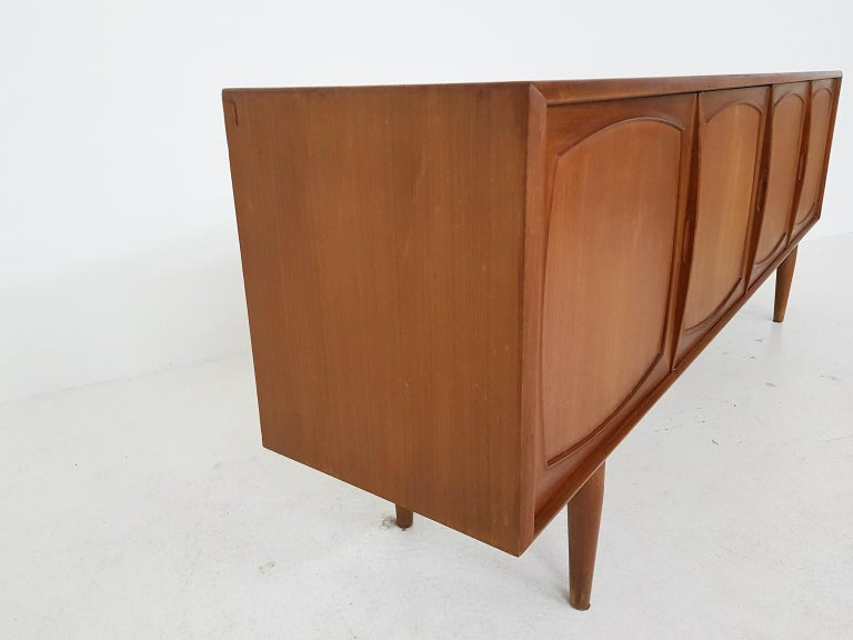 Adolf Relling and Rolf Rastad for Bahus Teak Credenza or Sideboard, Norway 1960s 3