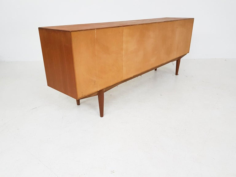 Adolf Relling and Rolf Rastad for Bahus Teak Credenza or Sideboard, Norway 1960s In Good Condition In Amsterdam, NL