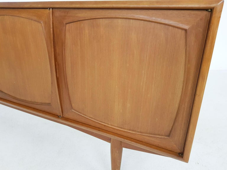 20th Century Adolf Relling and Rolf Rastad for Bahus Teak Credenza or Sideboard, Norway 1960s